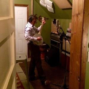 Recording at Erick Alexander's
